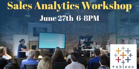 Tableau Workshop: Sales Analytics Case Study tickets