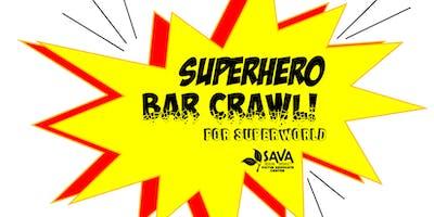 Superhero Bar Crawl