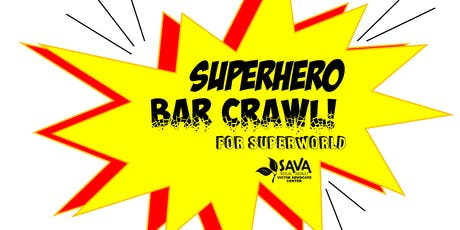 Superhero Bar Crawl tickets