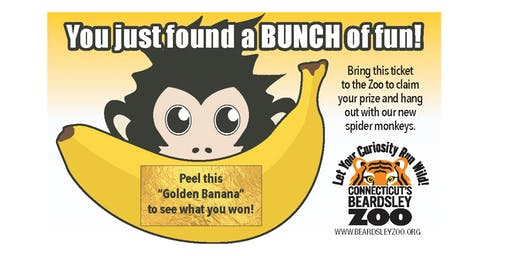 "BFPL & CT Beardsley Zoo Golden Ticket ""Bananza"" (6/22)"