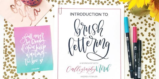 Intro to Brush Lettering (Level 1)