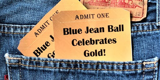 Blue Jean Ball Celebrates Gold