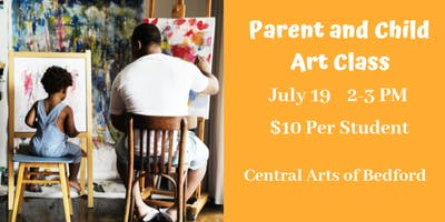 Parent and Child Watercolors Class