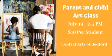 Parent and Child Watercolors Class tickets