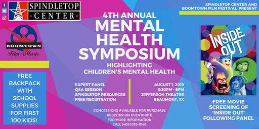 Spindletop Center's 4th Annual Mental Health Symposium