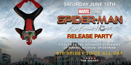 Spiderman Far From Home Release Party tickets
