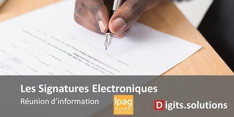 IPAG Alumni Lux event - Signatures électroniques tickets