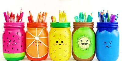 Summer Mason Jars- Paint & Pint Night