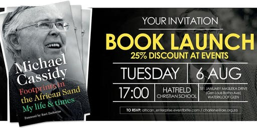 Michael Cassidy's Memoirs Book Launch - Pretoria