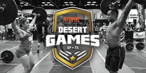 2019 Desert Games