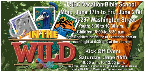 In the Wild Vacation Bible School