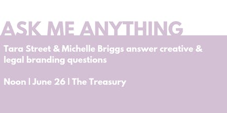 Ask Me Anything: Tara Street & Michelle Briggs tickets