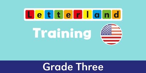Grade 3 Letterland Training - Winston Salem, NC