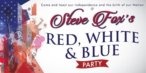 Steve Fox's Red, White & Blue Party at The Venu in Boynton Beach!