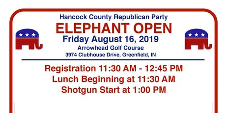 Hancock County Elephant Open Golf Outing tickets