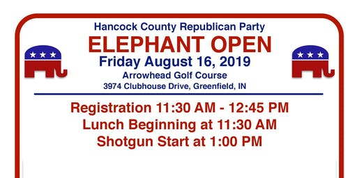 Hancock County Elephant Open Golf Outing