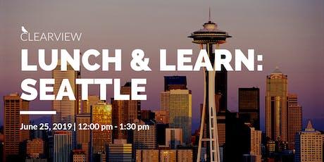 Clearview Lunch & Learn: Seattle, WA tickets
