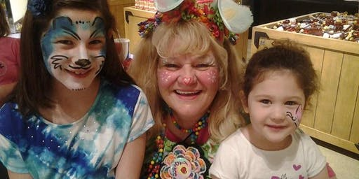 Merry Mary Facepainting