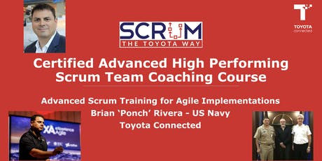 Certified Advanced High Performing Scrum Team Coaching Course tickets