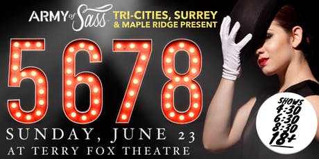 AOS Tri-Cities, Surrey & Maple Ridge Present: 5678 tickets