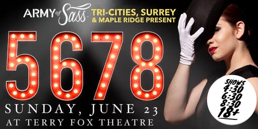 AOS Tri-Cities, Surrey & Maple Ridge Present: 5678