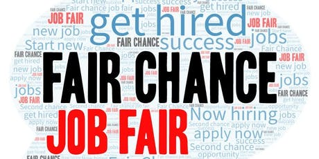 Fair Chance Job Fair tickets