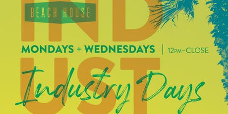 Industry Days at Beach House tickets