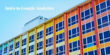 Free Class: Google Analytics tickets