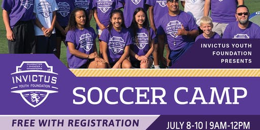 2019 Invictus Youth Foundation - Free Youth Soccer Camp