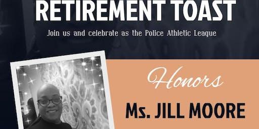 Ms. Jill Moore's Surprise Farewell Toast