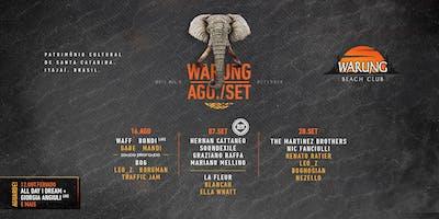 Warung Beach Club -28 de Setembro - Sábado