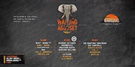 Warung Beach Club -28 de Setembro - Sábado ingressos
