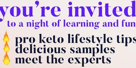 Keto Lifestyle at Kahlena Movement Studio tickets