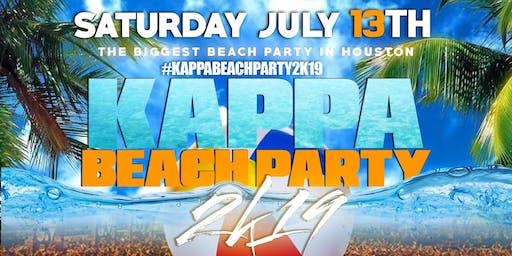 #KAPPABEACHPARTY2K19 SATURDAY JULY 13TH