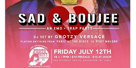 SAD AND BOUJEE Emo Party tickets