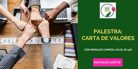 ACIB MULHER CONVIDA | Palestra: Carta de Valores, com Ronaldo Campos ingressos