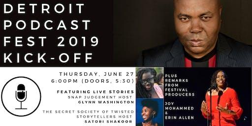 Detroit Podcast Festival: Kickoff Mixer