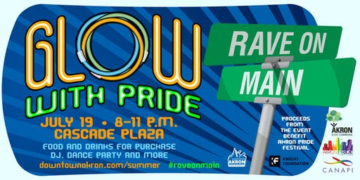 Rave on Main - Glow with Pride
