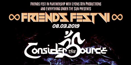 Friends Fest VI tickets