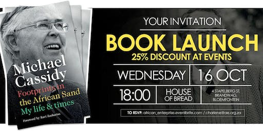 Michael Cassidy's Memoirs Book Launch - Bloemfontein