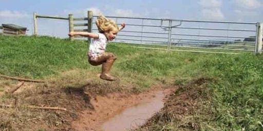 """Mud Day at Sweetwater Farms """"You & Me"""" Little Farmyard Class with Pony Rides"""