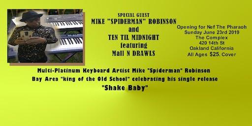 "Mike ""Spiderman"" Robinson , Mall N Drawls,"