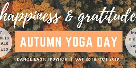Autumn Yoga Day - Early Bird Full Day tickets