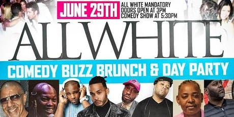 ALL WHITE COMEDY BUZZ BRUNCH tickets