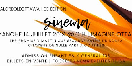 FESTIVAL CRÉOLE OTTAWA 2019 | Sinema tickets