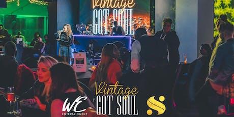 Vintage Got Soul: Live Soul Music Event @ SERVE Birmingham tickets