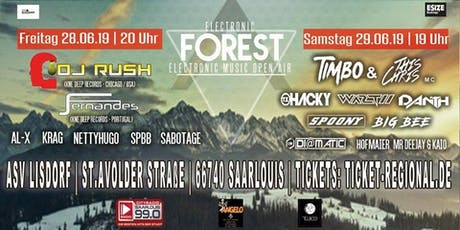 Electronic Forest tickets