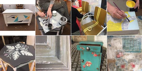Upcycling furniture - block of 8 classes from 19 September 2019  tickets