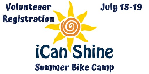 iCanShine Bike Camp Volunteer Registration