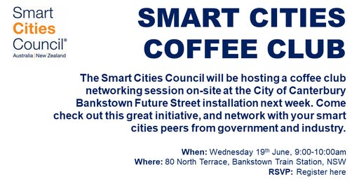 Canterbury Bankstown Smart Cities Coffee Club